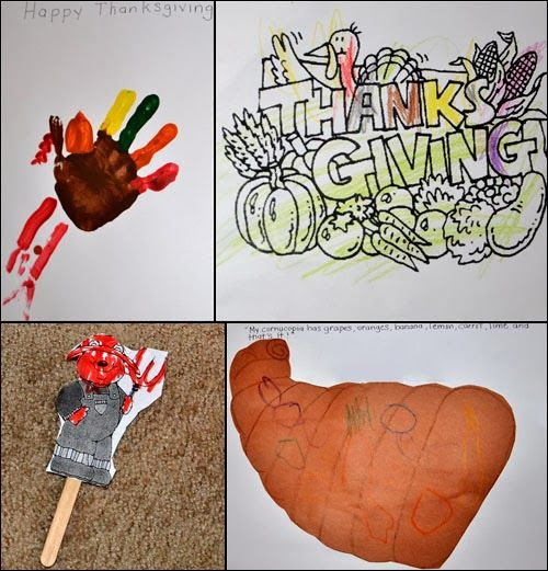 Preschool Thanksgiving Crafts