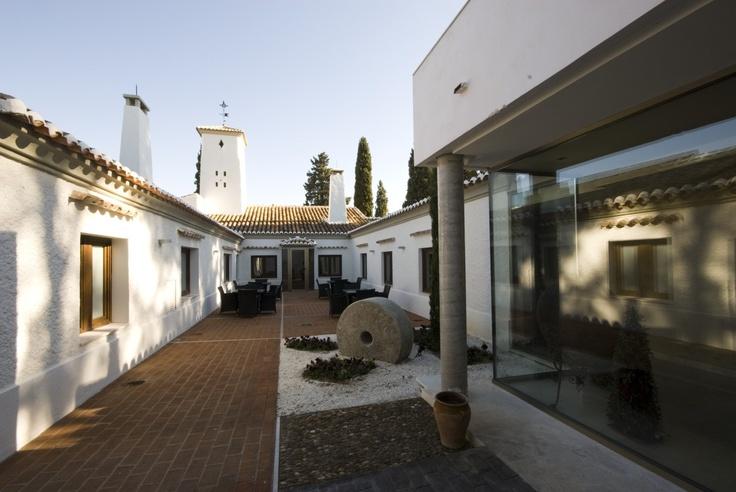 Hotel La Salve - Torrijos (Toledo) - Patio interior