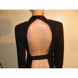 Backless Women's Tuxedo Jacket