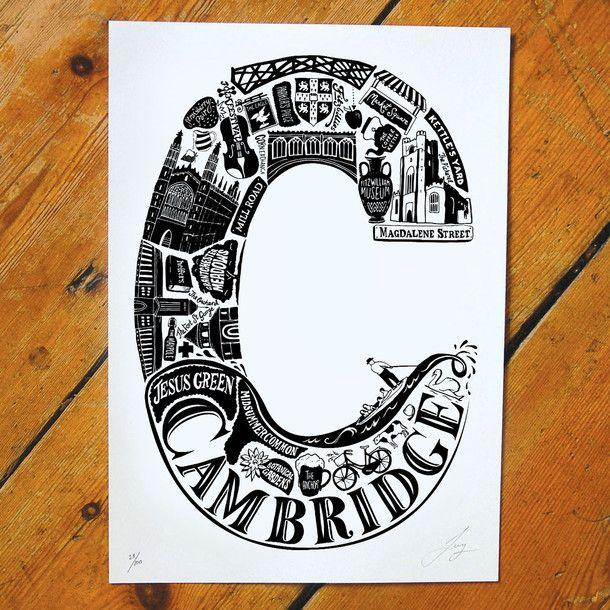 Best Of Cambridge Screen Print