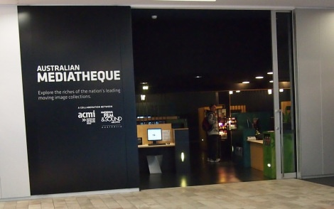 Check out ACMI's media library and watch free films from the huge collection, access via touch screen!