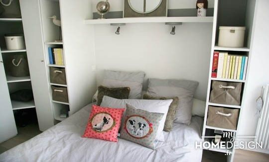1000 images about chambre by mhd on pinterest coaches extensions and mezz - Placard autour du lit ...