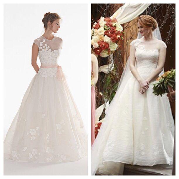 April Kepner from Greys Anatomy wedding dress! Love