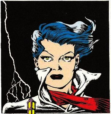 "Silk Satin from ""The Spirit"" by Will Eisner."