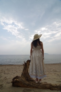 #hanaeru_odoi 地撮り山口光 #jidori0722 室積海岸の夏 #TwitPict