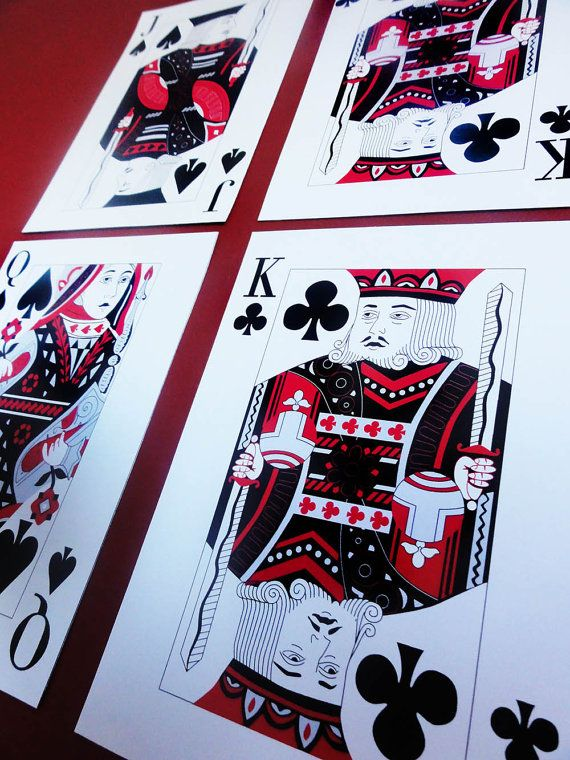 Casino Las Vegas Poker Game Night Playing Cards