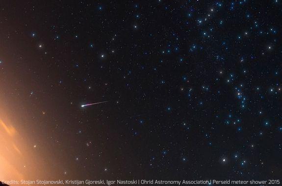 fotos da chuva de meteoros perseidas  3