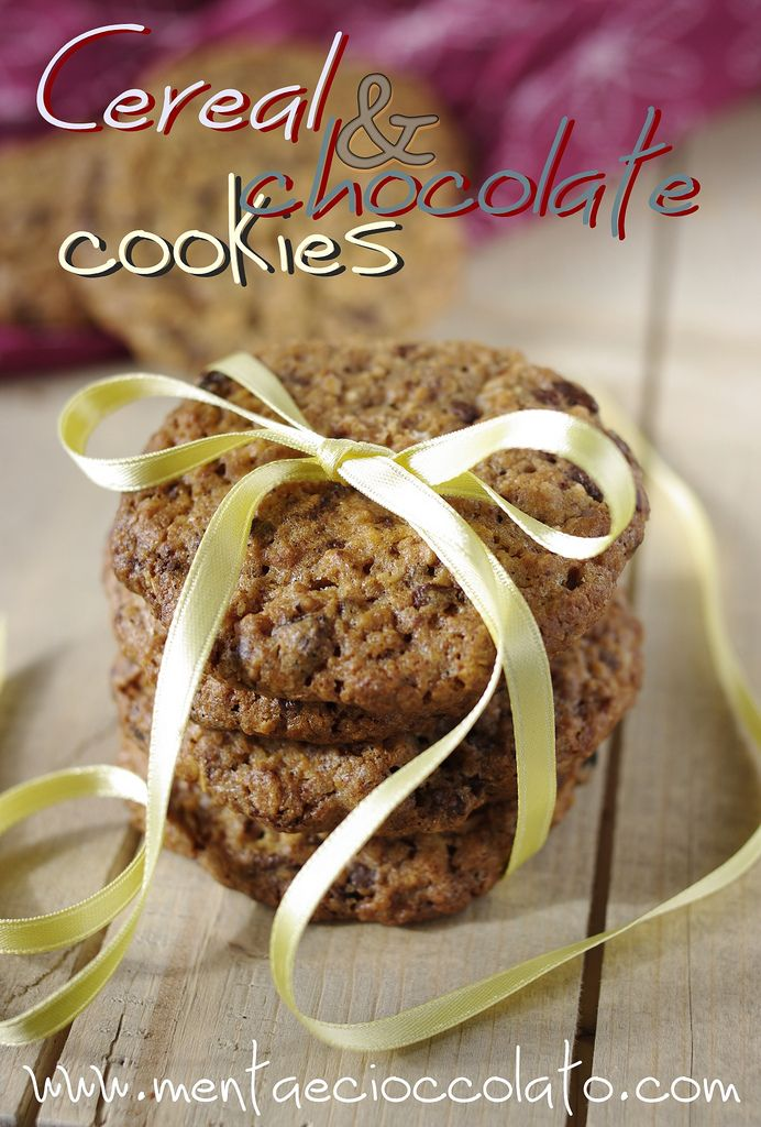 Menta e Cioccolato: Biscotti di Muesli con cioccolato e frutta secca