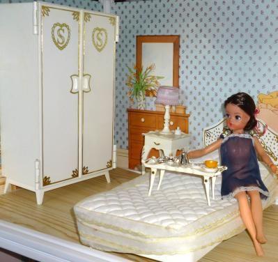Sindy the doll you love to dress Online Shop - GroovyCart - Sindy Buy 1968 Pedigree Sindy Wardrobe Hangers, Pedigree Sindy Furniture, Ref 12SA2, Sindy Wardrobe,