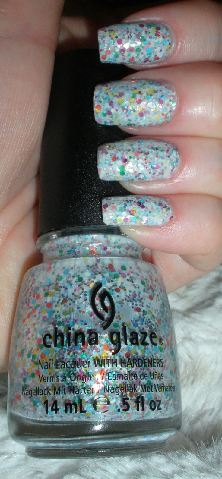 China Glaze's It's a Trap-eze Manicure - from the Cirque du Soleil Worlds Away Collection, 1 mani as shown above actual bottle, $5