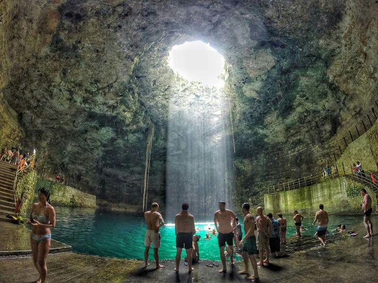 Cenote Hubiku  Located at km 151 of the Cancun-Merida in passing for Tizimin and Temozon village, Temozon, Mexico