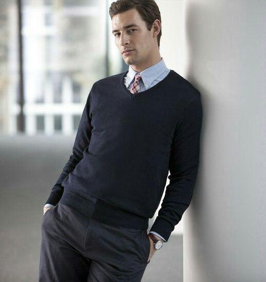 1. Black pullover for men & 25,-