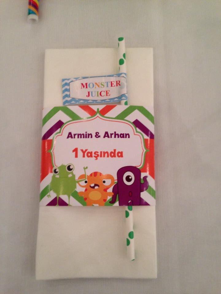 Armin & Arhan 1 yaş doğumgünü www.mynacatering.com