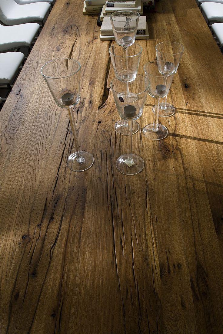 Esstisch eiche rustikal  44 besten Tisch Bilder auf Pinterest | Holztisch massiv, Eiche und ...