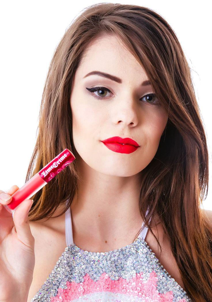 Lime Crime Red Velvet Velvetine Liquid Lipstick