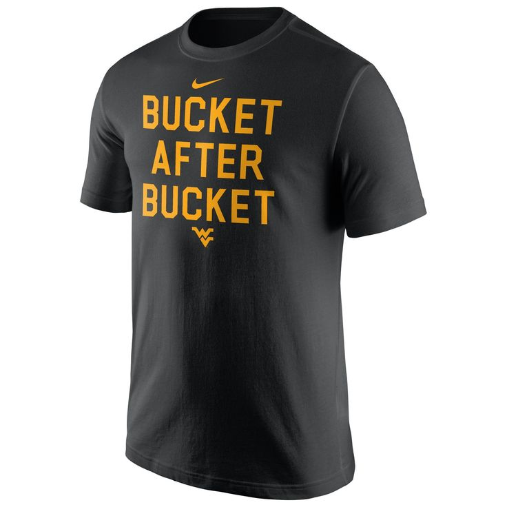Let's roll out the carpet and cheer on WVU Men's Basketball in Nike's Bucket After Bucket Tee!
