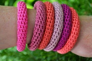 14 FREE Bracelets Crochet Patterns for Emma and Lily                                                                                                                                                                                 More