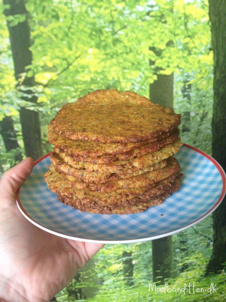Flade grøntsagsbrød - LCHF glutenfri