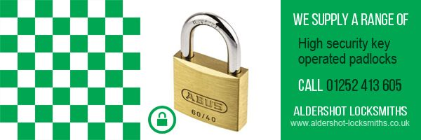 Slide - Key Opened Padlocks