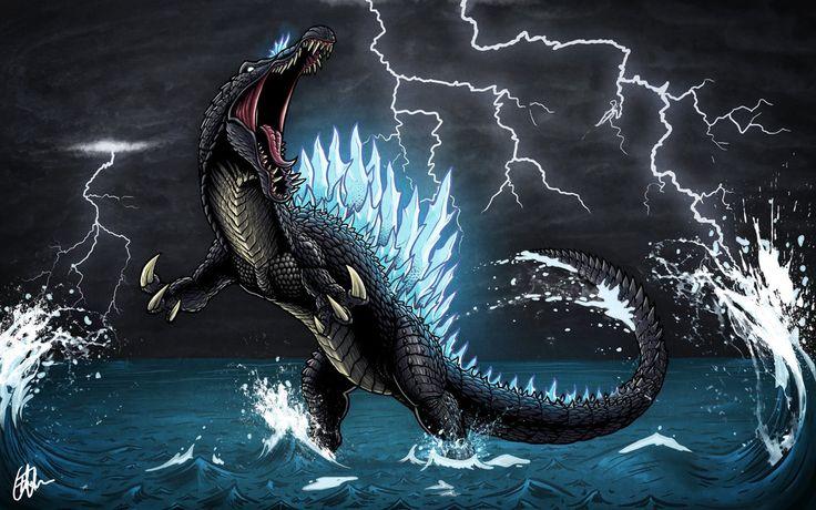Spinosaurus + Godzilla = this!