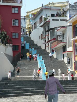 I would LOVE to run these stairs..xalapa mexico