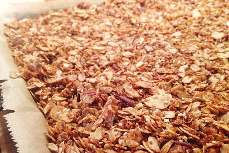 Rezept für Knuspermüsli • Lisa's Closeup