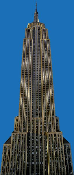 Art Deco Empire State Building, New York City, New York