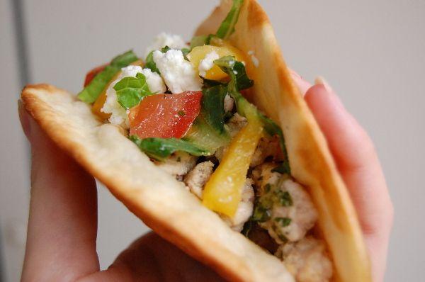 Recept: Koriander-limoen-kip taco's