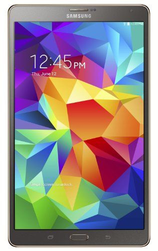 Samsung Galaxy Tab S 8.4-Inch Tablet (16 GB, Titanium Bronze) Samsung