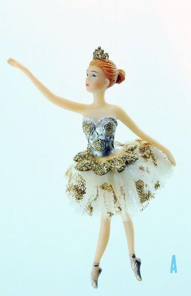 Goodwill Tüll Ballerina gold Weihnachtsschmuck Christbaumschmuck TR28201