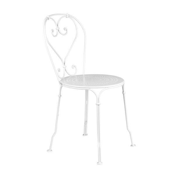 1900 chair, cotton white