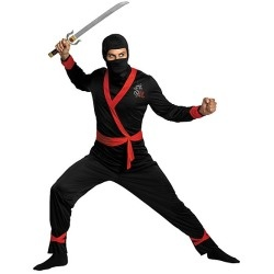 Adult Ninja Master Costume for Men www.grabevery.com