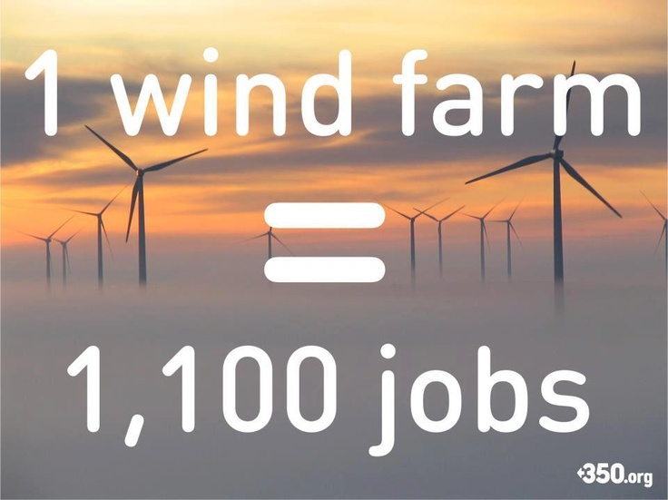 Wind Farms are cool ;) vote romney and go to war for oil instead