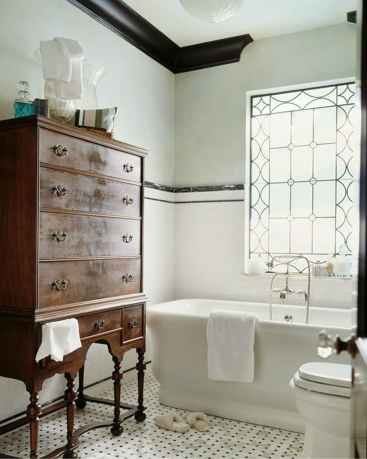 21 Interesting Bathroom Ideas {for 'bathroom people'}