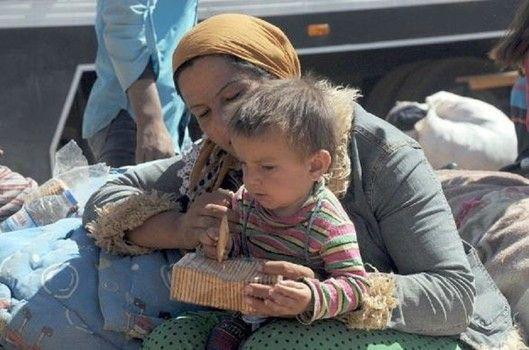 UNICEF feeding Syrian refugees in Turkey