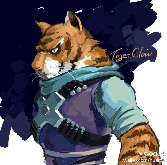 [tmnt]tiger claw by huer13.deviantart.com on @deviantART