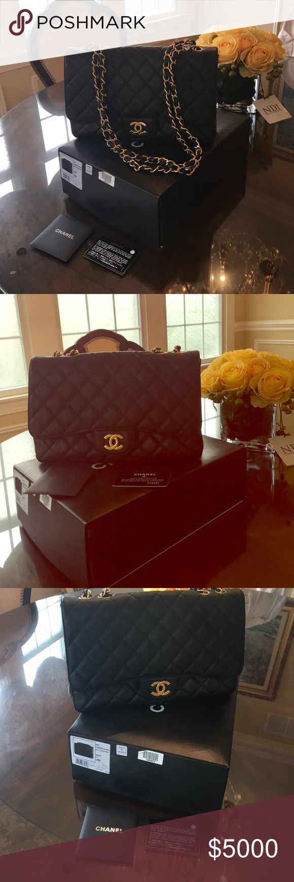 Jumbo classic Got it at Neman Marcus Chanel store. Beautiful & classic. Jumbo size CHANEL Bags Shoulder Bags