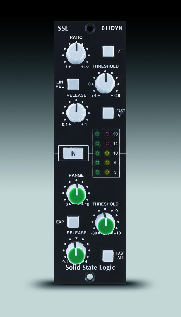 Solid State Logic Ssl E Series Dynamics 500 Series E Series Dynamics Module For Api 500 Format Racks 519 Ex Logic Music Music Machine Recording Studio Home