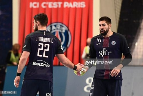 Paris Saint-Germain's French line player Luka Karabatic... #saintjacquesdambur: Paris Saint-Germain's French line… #saintjacquesdambur