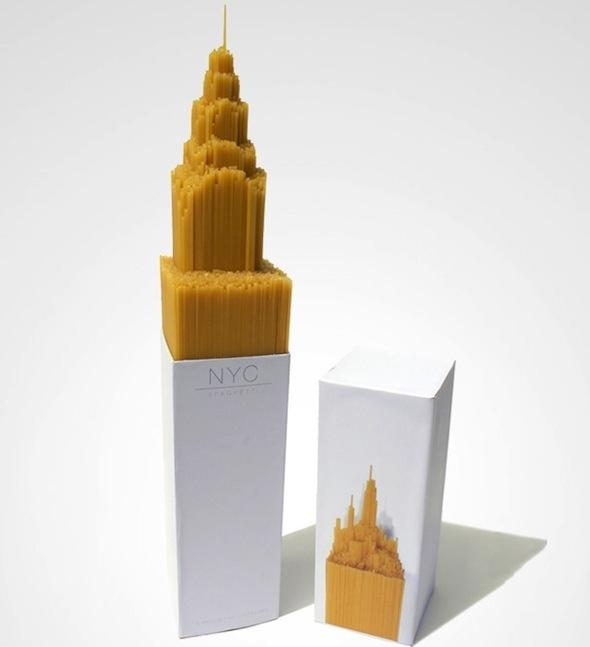 New York City Spaghetti Packaging