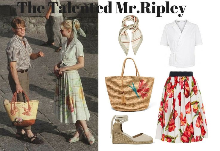 While you may want to steal style inspiration from the boys, Jude Law and Matt Damon, who offer up ultimate Riviera inspired sartorial vibes, Gwyneth Paltrow has some beautiful summer looks of her own in this film. An easy breezy outfit made up of a full midi skirt and waist-tied shirt is Gwyneth's uniform throughout, and a straw tote bag and canvas espadrilles are a must to finish off this outfit. Be warned, you will most definitely want to book a trip to Italy after watching this film.