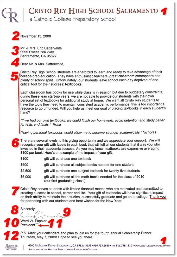 Image result for best annual fund thank you letter