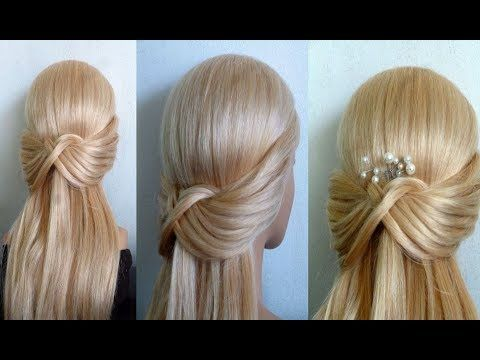 Make your hairstyle quick and easy yourself: school / everyday / free time. Best Easy Hairstyles.Peinados – YouTube