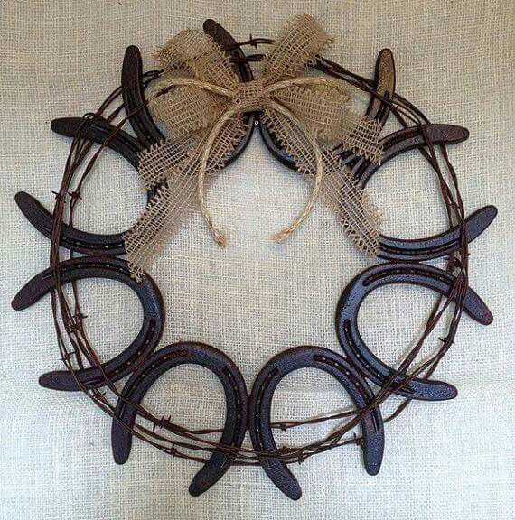 Horseshoe wreath                                                                                                                                                     More