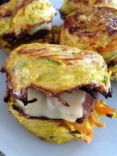 Hamburger de légumes boeuf / bacon Plus