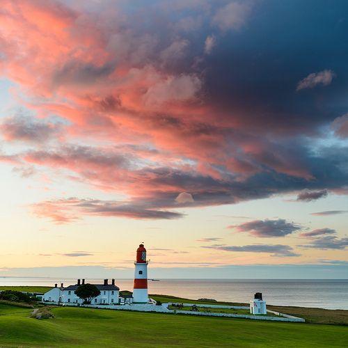 NE England, Tyne & Wear, Sunderland, Whitburn, Souter Lighthouse 01