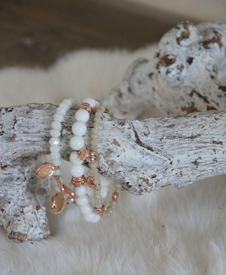 Biba armbandjes wit! #white #biba #bracelets #fashion