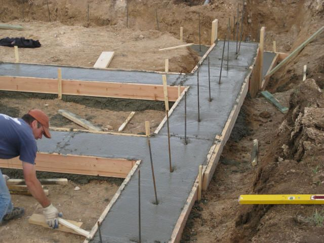 Best 25 Concrete Footings Ideas On Pinterest Footing