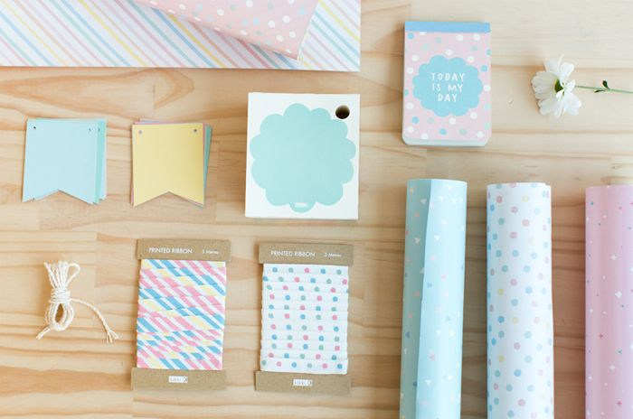 Stationery ideas. The note pad is great as there's a hole in there for one to slot a pen.