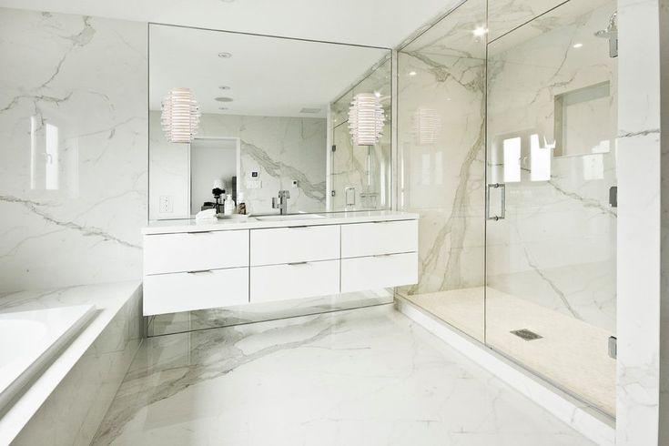 toronto porcelain marble tile with transitional wall sconces bathroom modern and floor mirrors